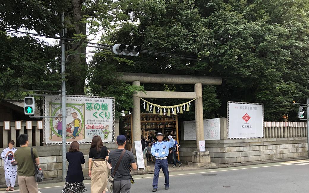 川越・氷川神社